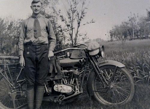 Herman By Motorbike