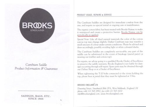 Brooks Cambium Manual 07.30.15