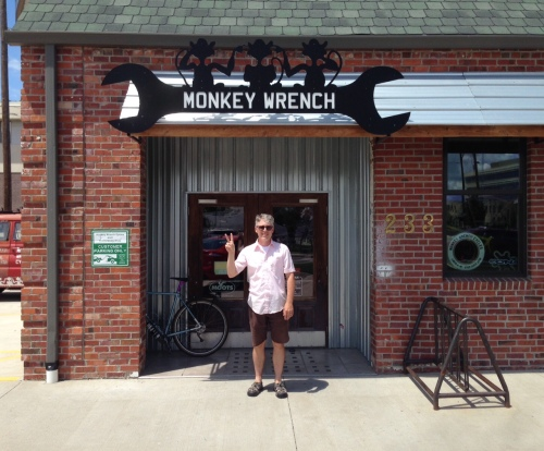 Randy at Monkey Wrench